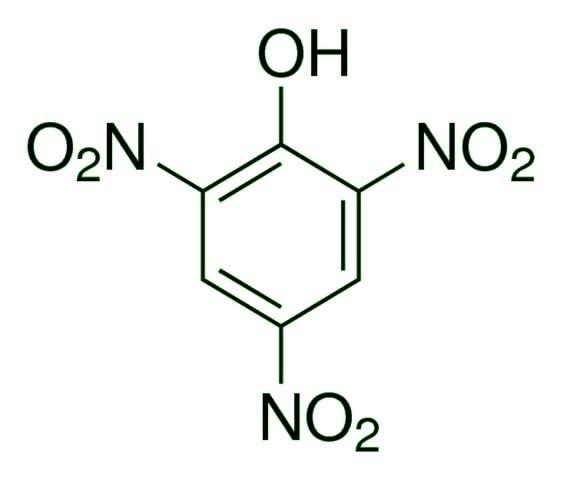 پیکریک اسید - پیکریک اسید (picric acid)