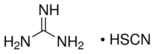 گوانیدین تیوسیانات - گوانیدینیوم تیوسیانات ( guanidinium thiocyanate )